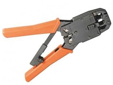 Užspaudimo įrankis WZ04MLC RJ45/11/12 jungtims