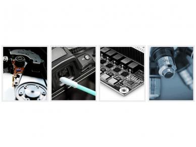 Valymo pagaliukai SC/ST/FC 2.5mm lizdų valymui, 100 vnt. 6