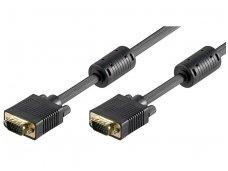 VGA kabelis 15M-15M 3m