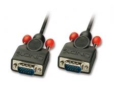 VGA kabelis 15M-15M 5m, Lindy 6mm storio