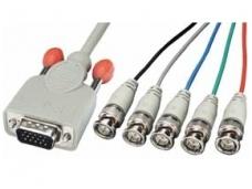 VGA kabelis 15M - 5 BNC  3m, Lindy