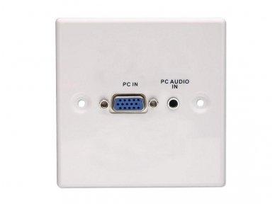 VGA, 3.5mm Stereo panelė