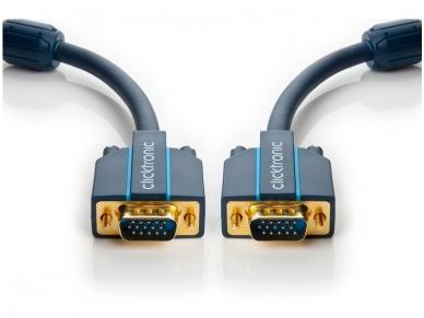 VGA kabelis 15M-15M 15m, 2560x1600, Clicktronic 2