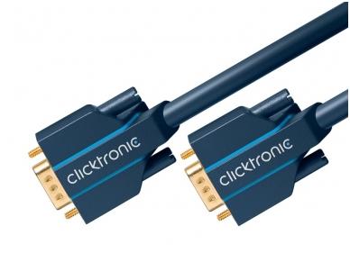 VGA kabelis 15M-15M 15m, 2560x1600, Clicktronic 3