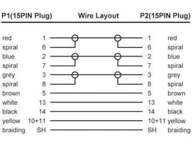 VGA kabelis 15M-15M 1,8m, HT 2560x1600 2