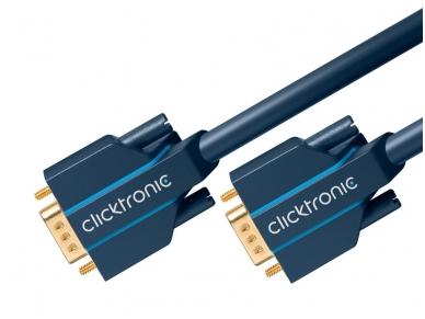 VGA kabelis 15M-15M 2m, 2560x1600, Clicktronic 3