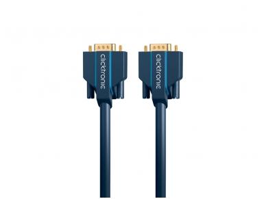 VGA kabelis 15M-15M 2m, 2560x1600, Clicktronic 4