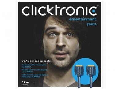 VGA kabelis 15M-15M 5m, 2560x1600, Clicktronic 5