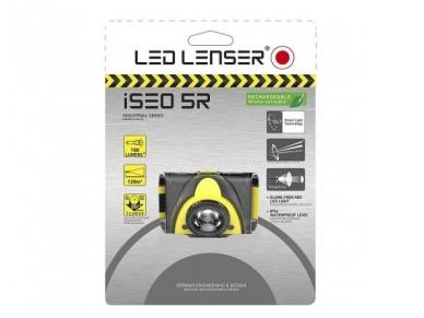 Žibintuvėlis LED LENSER iSEO 5R 180Lm, kraunamas, geltonas 2