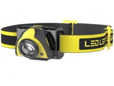Žibintuvėlis LED LENSER iSEO 5R 180Lm, kraunamas, geltonas