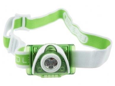 Žibintuvėlis LED LENSER SEO 3 3xAAA 100Lm, žalias 2