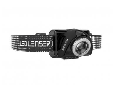 Žibintuvėlis LED LENSER SEO 7RB 3xAAA 220Lm, juodas